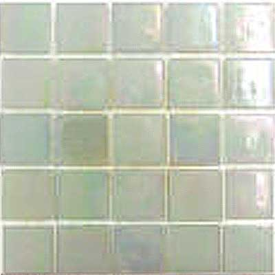 Florida Tile Platinum Glass Mosaic White T400