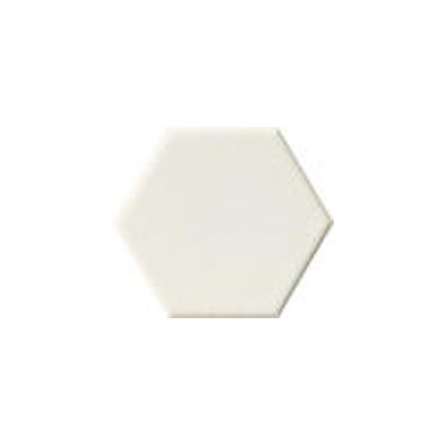 Florida Tile Retro Classic Hexagon 4 4in Hex White 600