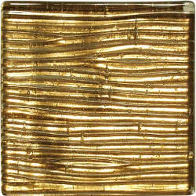 Florida Tile Vitra Art Mosaic Solid Serpente Gold V047