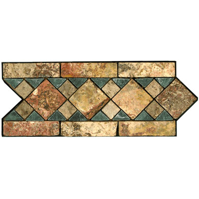 Stone Collection Mexican Travertine Decorative Borders Michelle GSCCACCMICHELLE