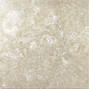 Stone Collection Mexican Travertine Tumbled 4 x 4 Crema GSCCREM44TMB