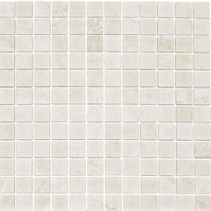 Stone Collection Turkish Marble Mosaic 1 x 1 Honed Botticino GSCBOTT11HON