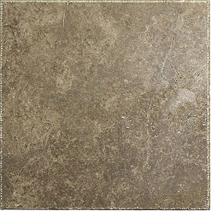 Stone Collection Turkish Travertine Chiseled Edge 16 x 16 Walnut GSCANTICO1616
