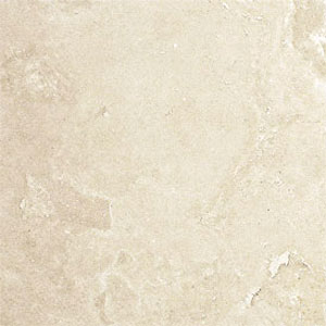Stone Collection Turkish Travertine Filled & Honed 16 X 16 Ivory GSC83