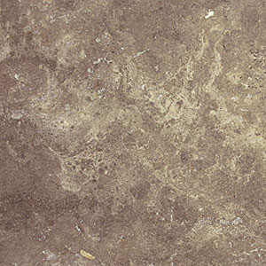 Stone Collection Turkish Travertine Filled & Honed 18 X 18 Imperial Noce/Mocha GSC94
