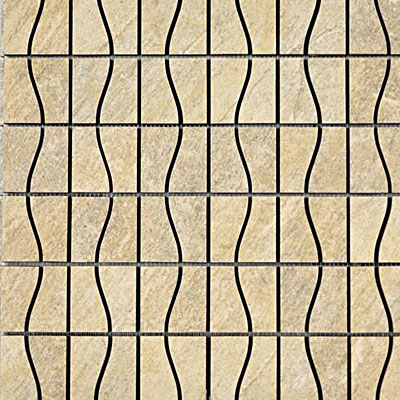 Interceramic Imperial Quartz Mosaic 16 x 16 Moka IMPESAND16MOS