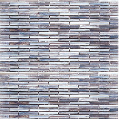 Interceramic Interglass - 12 x 12 Mosaics Marrone Retangular INGLMARR12RM