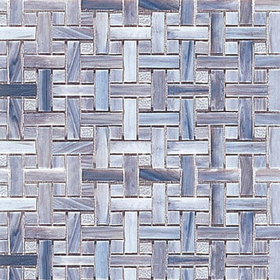 Interceramic Interglass - 12 x 12 Mosaics Smoke Weaves INGLSMOK12WM