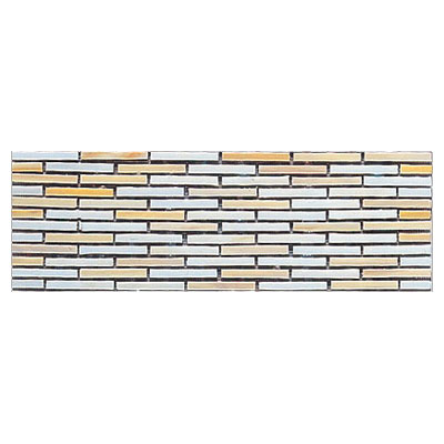 Interceramic Interglass - 4 x 12 Mosaics Retangular Canvas Mosaic INGLCANV412RM