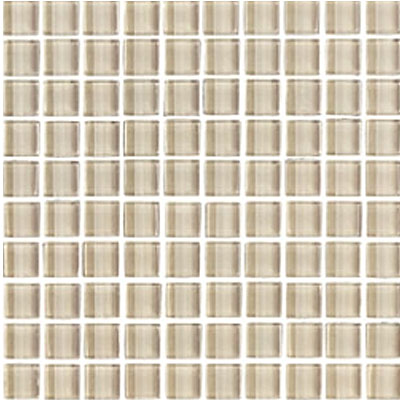 Interceramic Interglass Shimmer Mosaic 1 x 1 Beach SHIMBEAC11MG