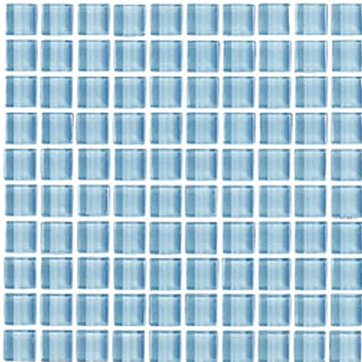 Interceramic Interglass Shimmer Mosaic 1 x 1 Daylight SHIMDAYL11MG
