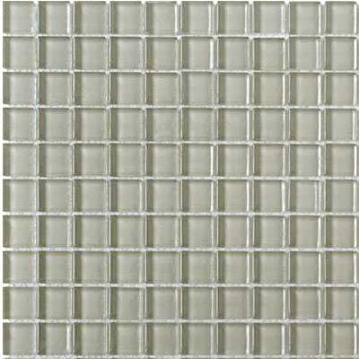 Interceramic Interglass Shimmer Mosaic 1 x 1 Moon SHIMMONO11MG