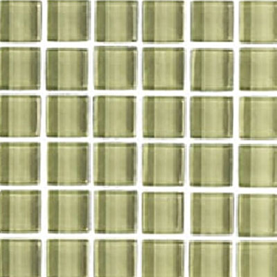 Interceramic Interglass Shimmer Mosaic 2 x 2 Meadow SHIMMEAD22MG