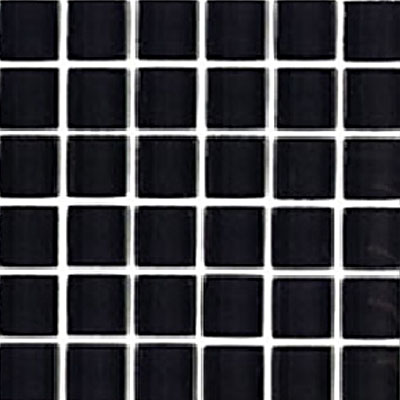 Interceramic Interglass Shimmer Mosaic 2 x 2 Midnight SHIMMIDN22MG