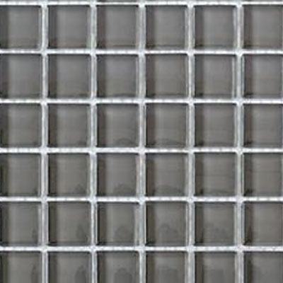 Interceramic Interglass Shimmer Mosaic 2 x 2 Pewter SHIMPEWT22MG