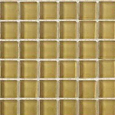 Interceramic Interglass Shimmer Mosaic 2 x 2 Wheat SHIMWHEA22MG