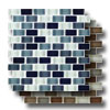 Interglass Shimmer Blends Mosaic 1 x 2