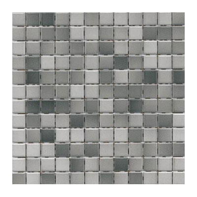 Interceramic Intertech Color Line Mix Mosaic 1 x 2 Grey ITCL006
