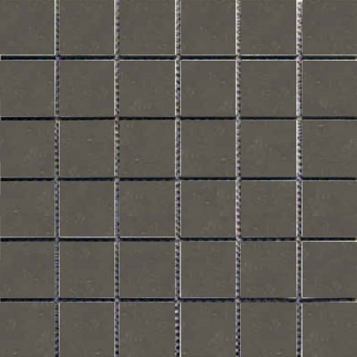 Interceramic Intertech Unglazed Porcelain Mosaic 2 x 2 Color Dot Graphite Grey POMOCDGG22U