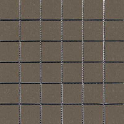 Interceramic Intertech Unglazed Porcelain Mosaic 2 x 2 Color Dot Mink POMOCODM22U