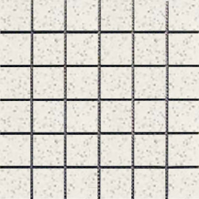 Interceramic Intertech Unglazed Porcelain Mosaic 2 x 2 Color Dot Super White POMOCDSW22U