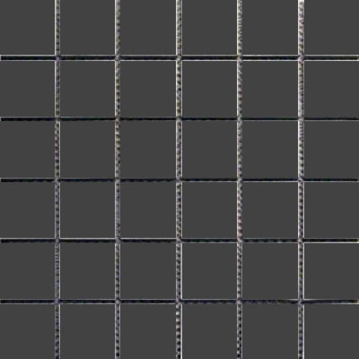 Interceramic Intertech Unglazed Porcelain Mosaic 2 x 2 Uni Black POMOUNBK22U