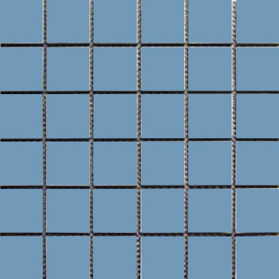 Interceramic Intertech Unglazed Porcelain Mosaic 2 x 2 Uni Blue POMOUNBU22U