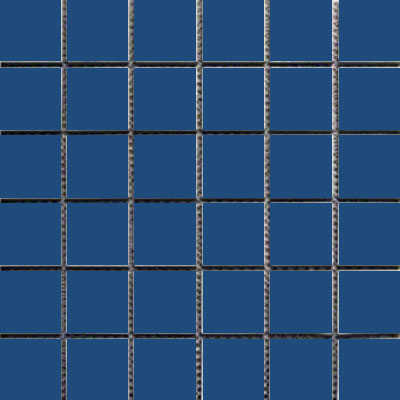 Interceramic Intertech Unglazed Porcelain Mosaic 2 x 2 Uni Colablt Blue POMOUNCB22U