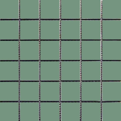 Interceramic Intertech Unglazed Porcelain Mosaic 2 x 2 Uni Pale Green POMOUNPG22U