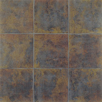 Interceramic Iron Slate 13 x 13 African Multicolor SLATAFMU1313M