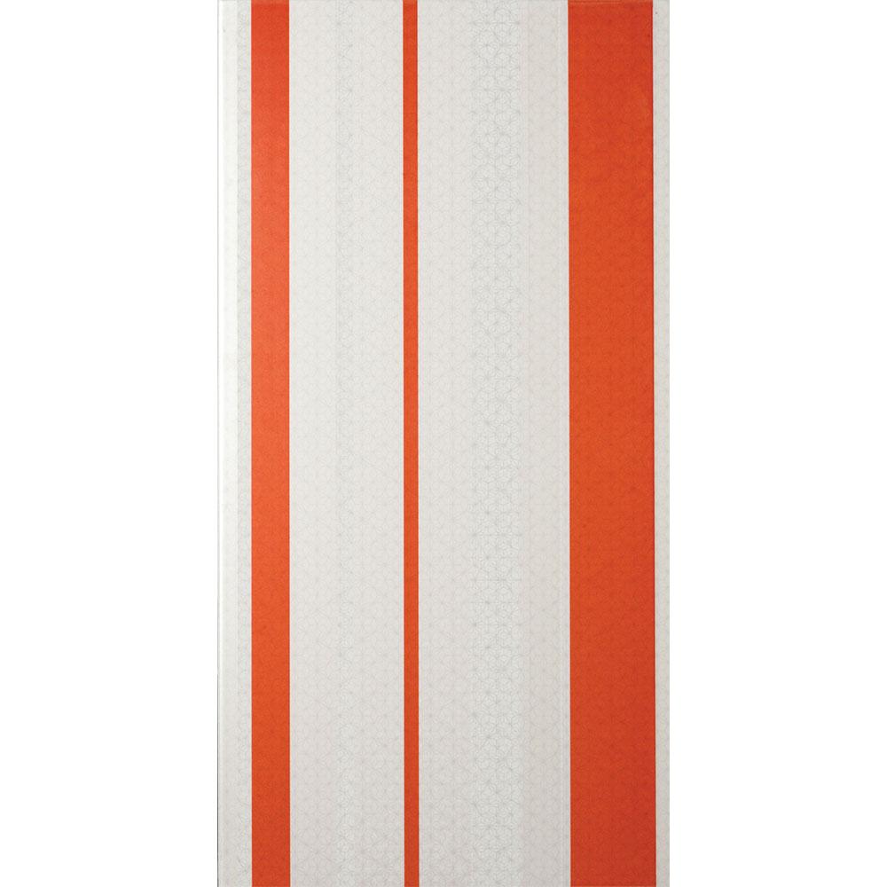 Interceramic Kaleido Stripes Deco Papaya