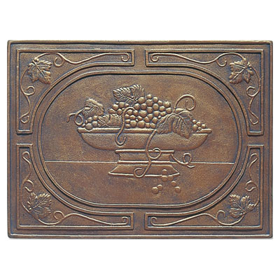 Interceramic Metal Impressions - Grapevine 18 X 24 Insert (Dropped) Bronze MEIMBROZ1824G