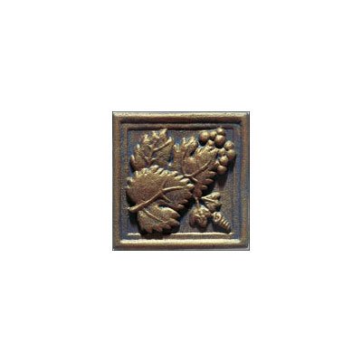 Interceramic Metal Impressions - Grapevine 2 X 2 Deco (Dropped) Deco A Bronze MEIMBROZ2DAG