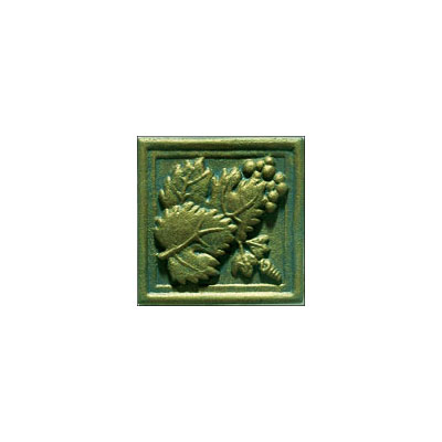 Interceramic Metal Impressions - Grapevine 2 X 2 Deco (Dropped) Deco A Nickel MEIMNICK2DAG