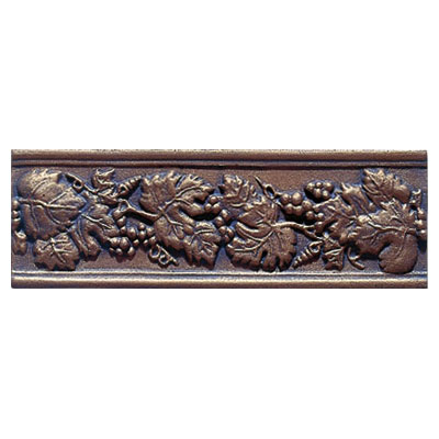 Interceramic Metal Impressions - Borders Grapevine (Dropped) Bronze MEIMBROZ412BG