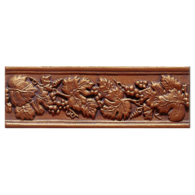 Interceramic Metal Impressions - Borders Grapevine (Dropped) Copper MEIMCOPP412BG