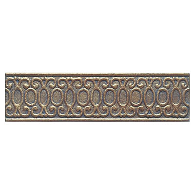 Interceramic Metal Impressions - Borders MetalArt (Dropped) Bronze MEIMBROZ312BM