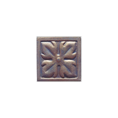 Interceramic Metal Impressions - Roman Flowers 4 X 4 Deco (Dropped) Deco A Bronze MEIMBROZ4DARF