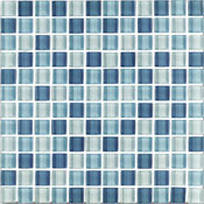 Interceramic Shimmer Blends Interglass (Mosaic) 1 x 1 Matte Artic SHBLARCT11MM