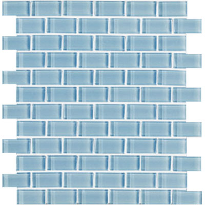 Interceramic Shimmer Interglass (Brick) 1 x 2 Gloss Daylight SHIMDAYL12MG