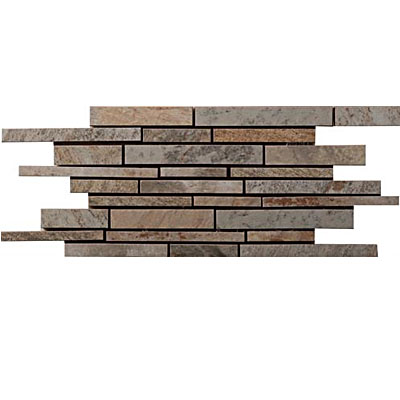Interceramic Slate Supremo Linear Mosaic 6 x 15.75 Winter SLSUWINT615LM