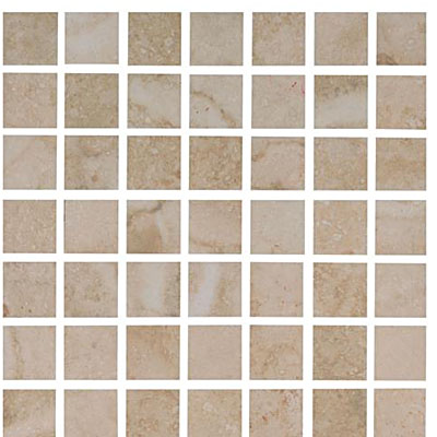 Interceramic Travertino Royal Mosaic 12 x 12 Ivory TRAVIVOY22MOS