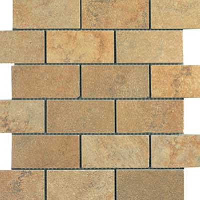 Italgres Buxy Brick Mosaic (Dropped) Golden