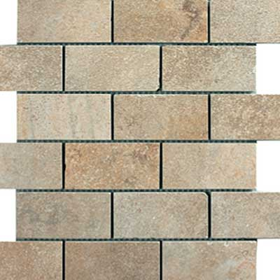 Italgres Buxy Brick Mosaic (Dropped) Natural