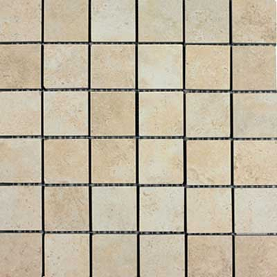 Italgres Scabos Mosaic (Dropped) Marfil