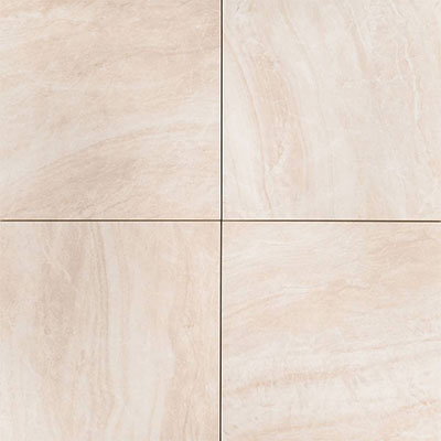 MS International Arterra Porcelain Pavers 24 x 24 Praia Crema