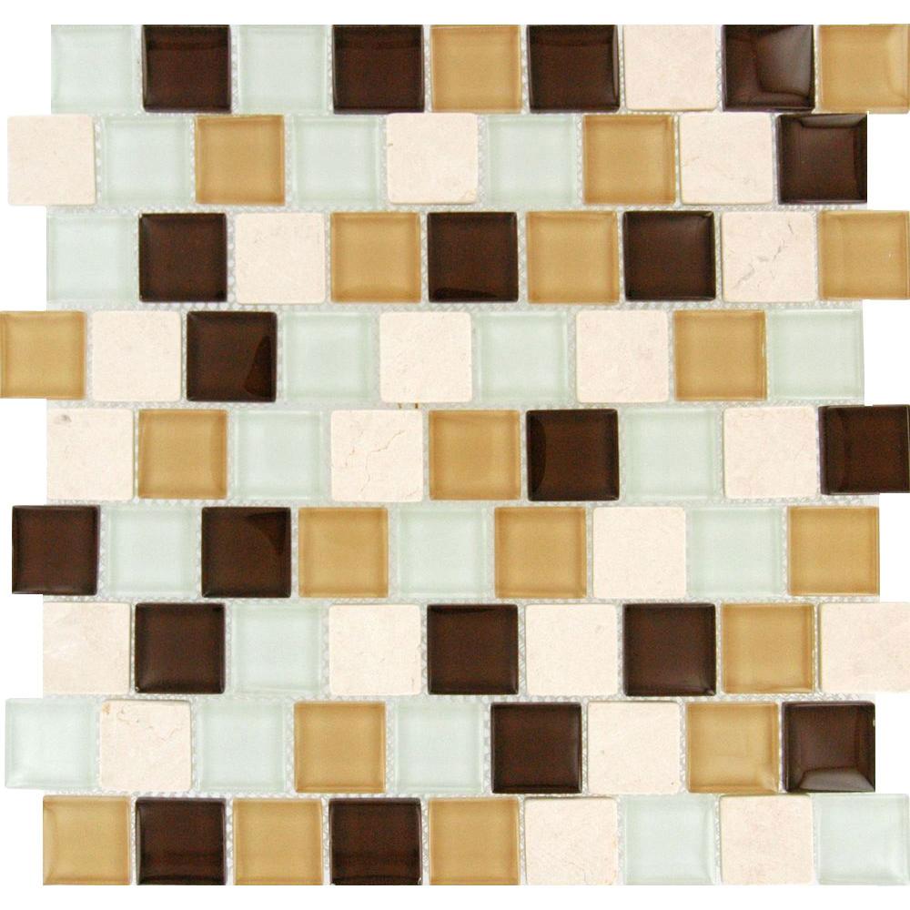 Ms international decorative blends mosaic x for International decor tiles