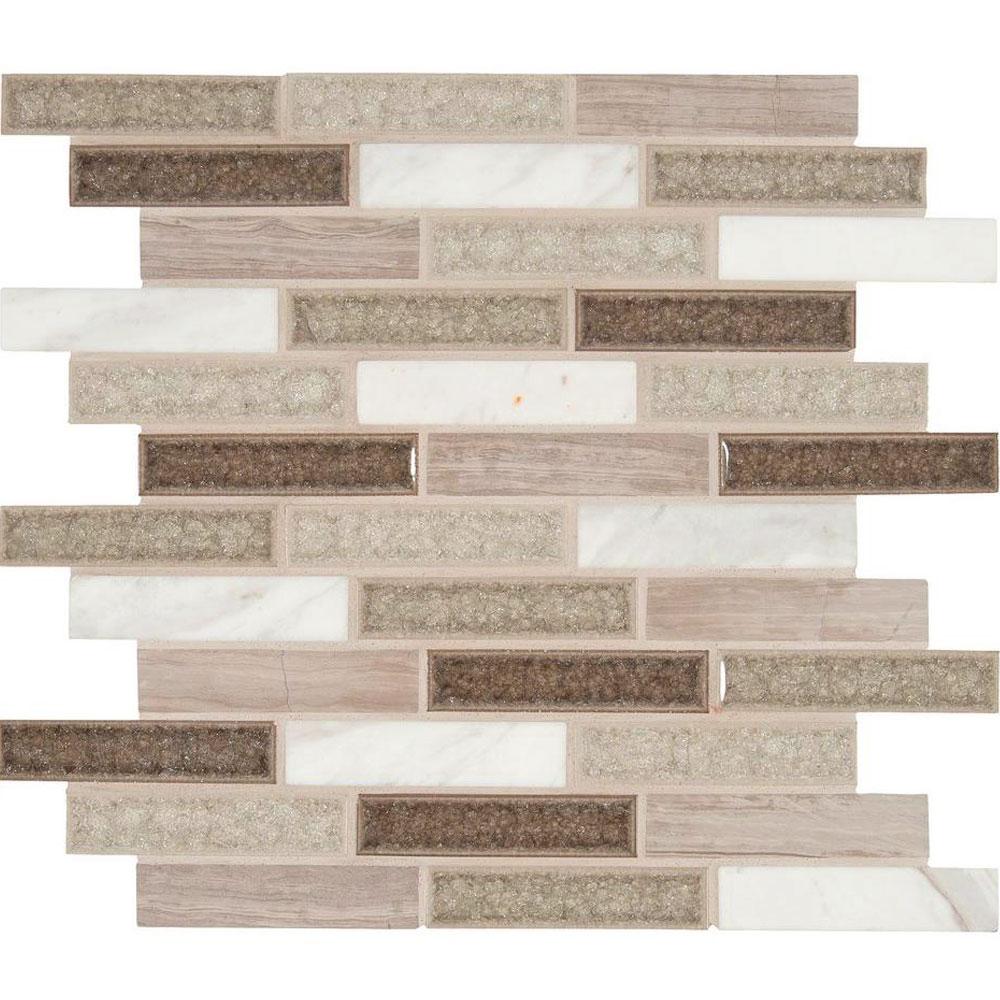 Ms international decorative blends mosaic 1 x 4 tile for International decor tiles