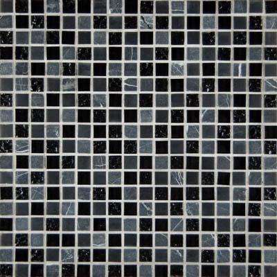 Ms international decorative blends mosaic 5 8 x 5 8 black for International decor tiles