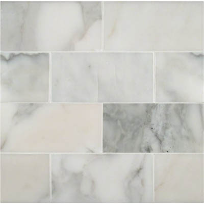 MS International Marble 3 x 6 Polished Calacatta Gold Polished